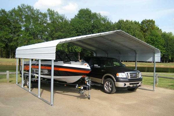 Steel Carports & RV Shelters, BC Canada